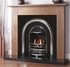 Newcastle Arched Cast-Iron Fireplace Insert